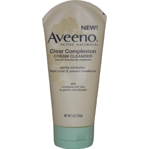 Clear Complexion Cream Face Cleanser With Salicylic Acid by Aveeno #5