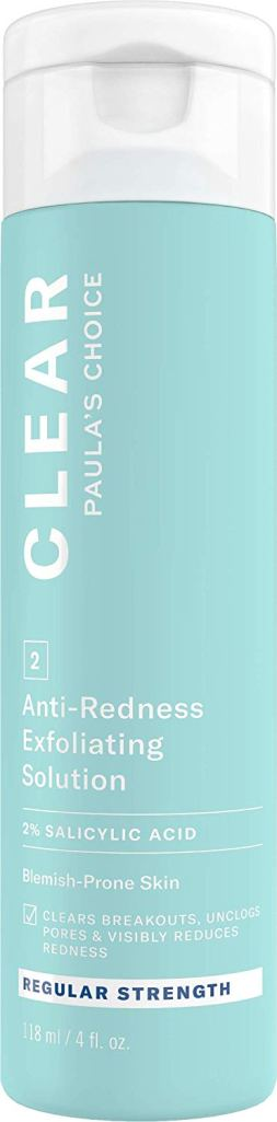 Paula's Choice Skincare CLEAR Regular Strength Anti-Redness Exfoliating Solution with 2% Salicylic Acid