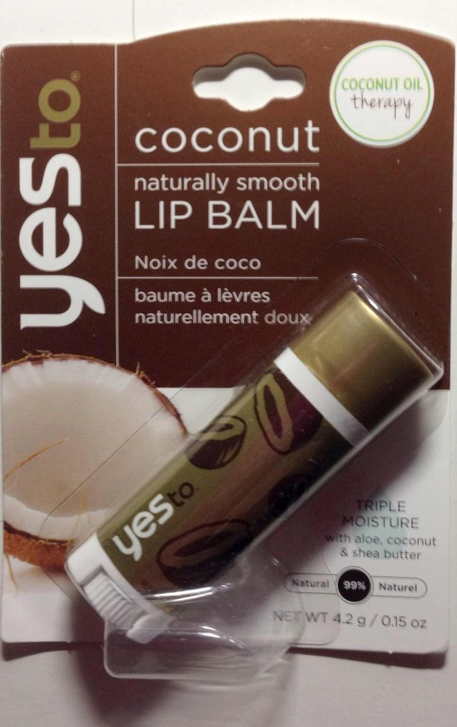 Expert Rating Reviews >> Yes to Coconut Naturally Smooth Lip Balm | Beautypedia