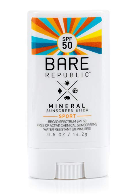Bare Republic Mineral Sunscreen Stick Sport SPF 50
