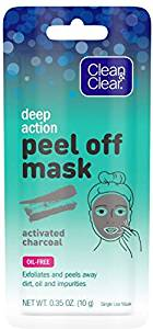 Clean and Clear Deep Action Peel Off Mask Activated Charcoal