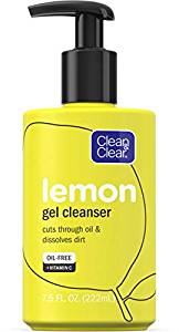 Clean and Clear Lemon Gel Cleanser