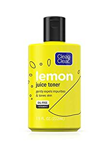 Clean and Clear Lemon Juice Toner