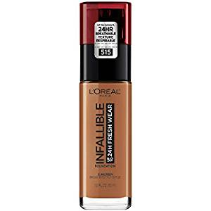 ef0bbff5505 L'Oreal Infallible 24HR Fresh Wear Foundation Broad Spectrum SPF 25 ...