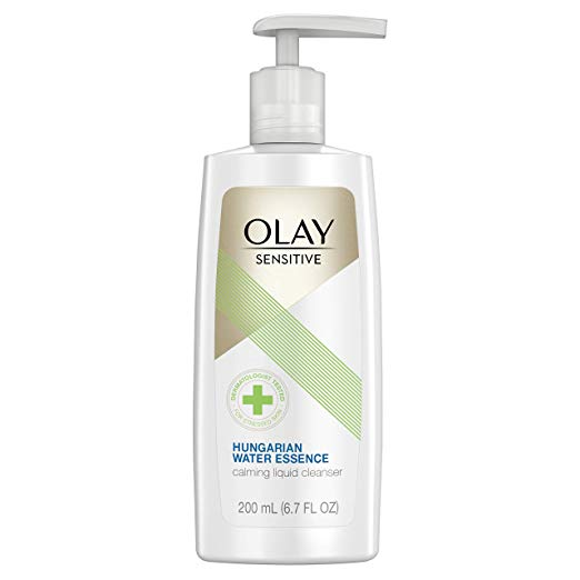 Olay Sensitive Hungarian Water Essence Calming Liquid Cleanser
