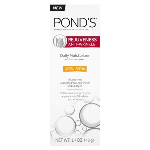 Pond's Rejuveness Anti-Wrinkle Daily Moisturizer with Sunscreen Broad Spectrum SPF 30