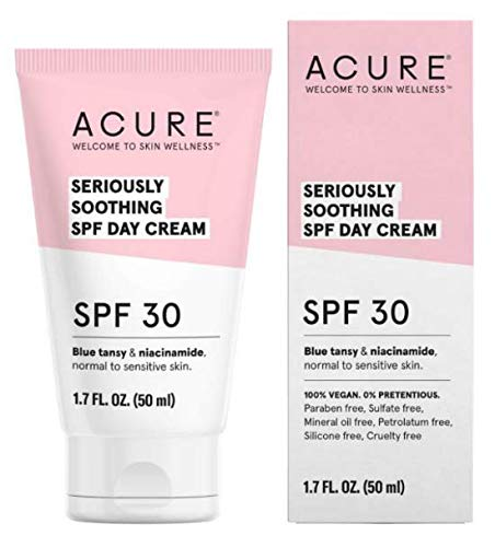 Acure Seriously Soothing SPF Day Cream SPF 30 Review