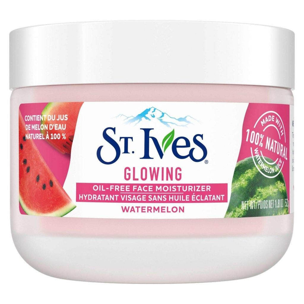 St. Ives Watermelon Glowing Oil-Free Facial Moisturizer