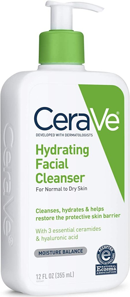 CeraVe /Hydrating Facial Cleanser