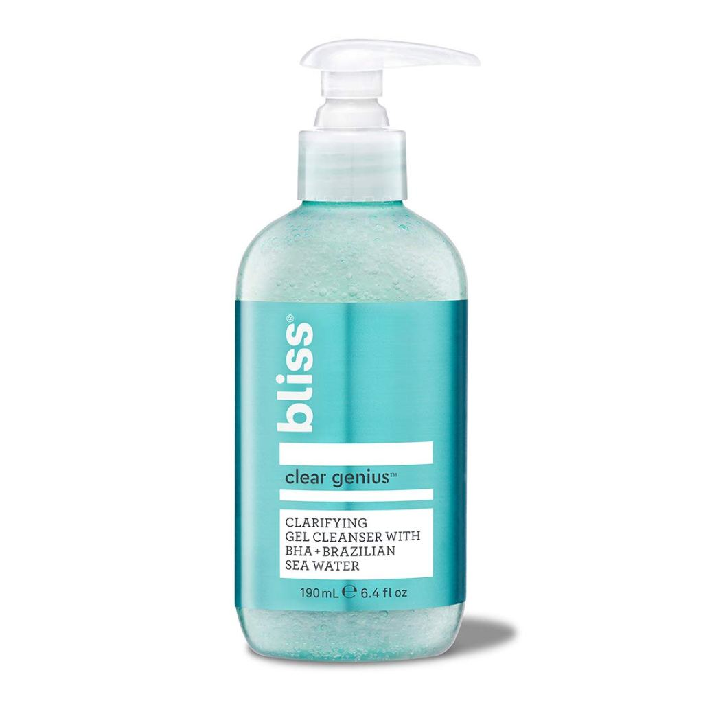 Bliss Clear Genius Clarifying Gel Cleanser with BHA + Brazilian Sea Water