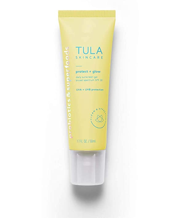 Tula Skincare Protect + Glow Daily Sunscreen Gel SPF 30